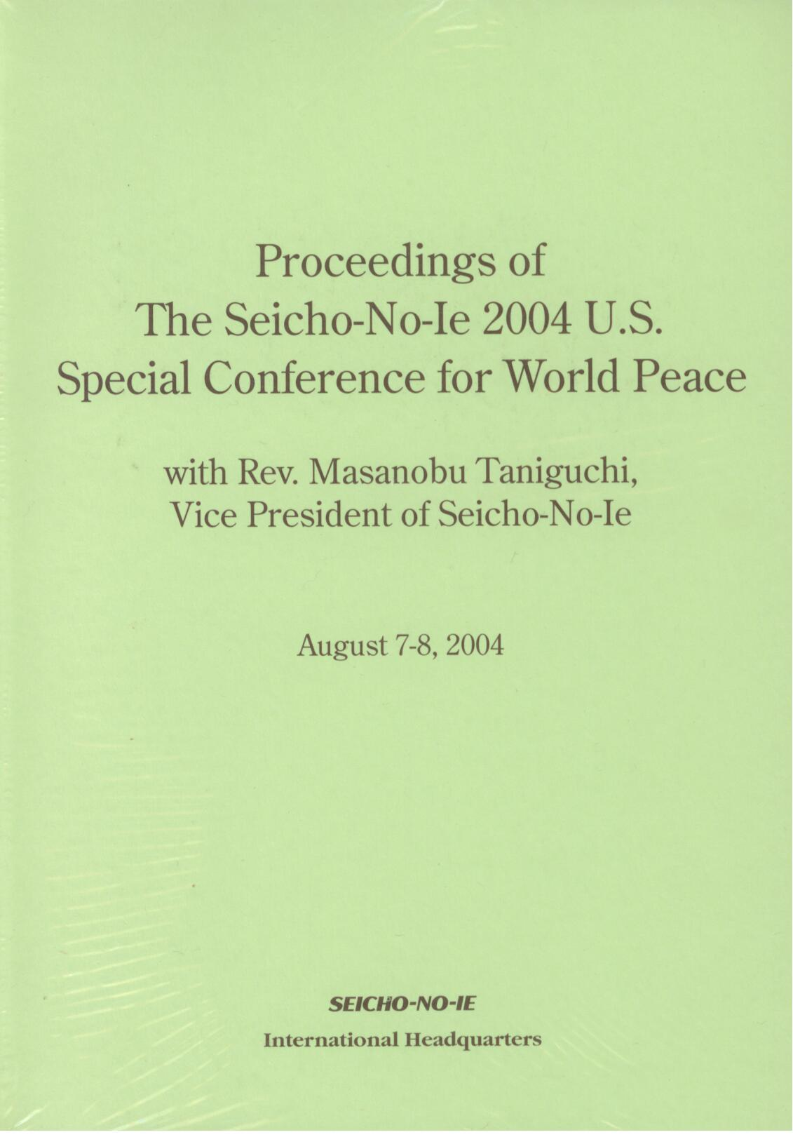 Proceedings 2004